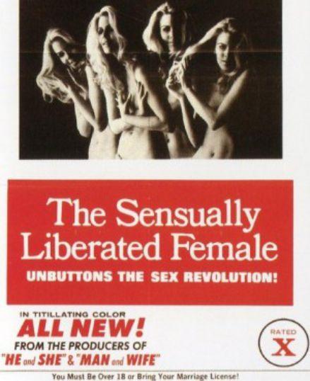 性释放的女性